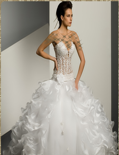 بالصور فساتين زفاف يمنية 245528 7