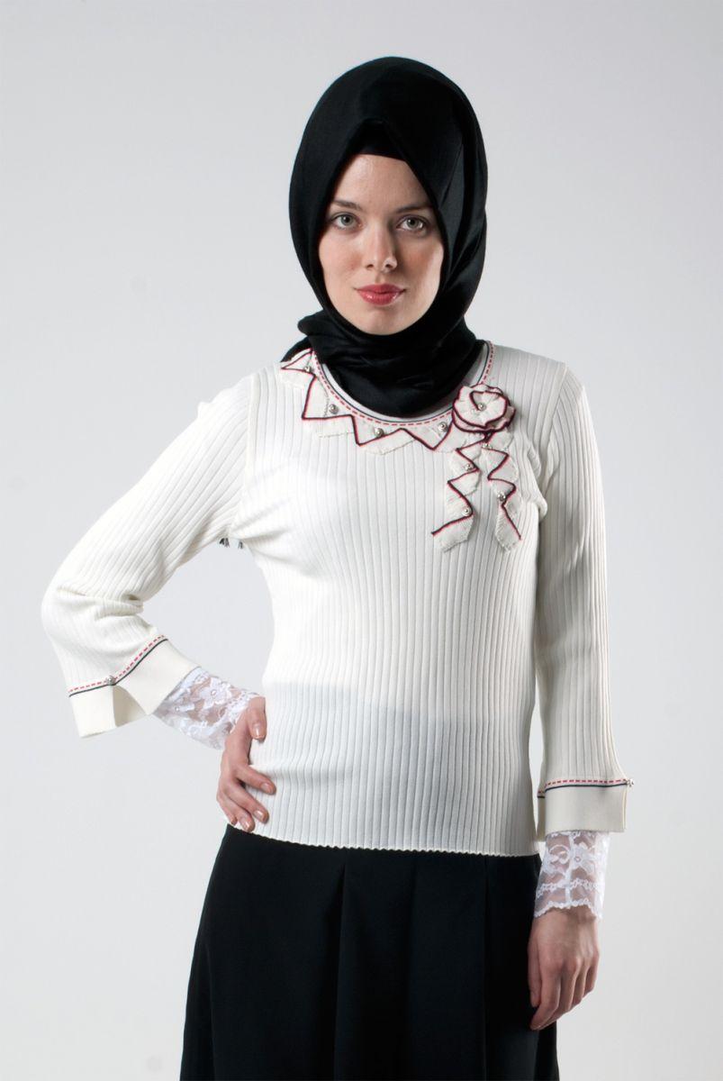 بالصور ازياء عجيبة لكل محجبة قمة التميز في ملابس المحجبات 245533 1