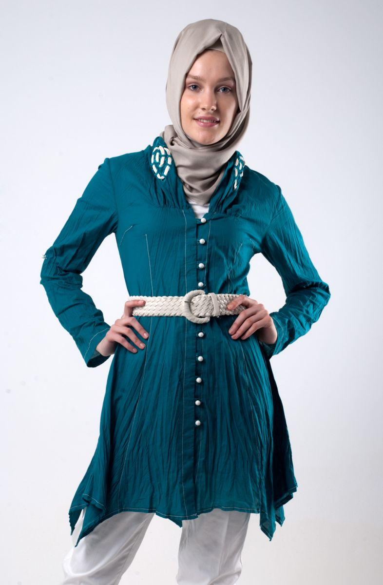 بالصور ازياء عجيبة لكل محجبة قمة التميز في ملابس المحجبات 245533 3