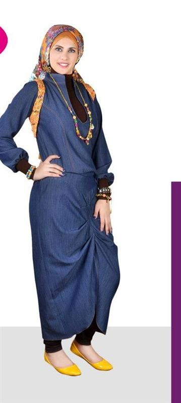 بالصور ازياء عجيبة لكل محجبة قمة التميز في ملابس المحجبات 245533 4