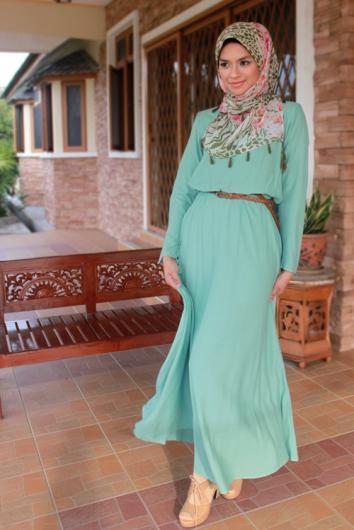بالصور ازياء عجيبة لكل محجبة قمة التميز في ملابس المحجبات 245533 5