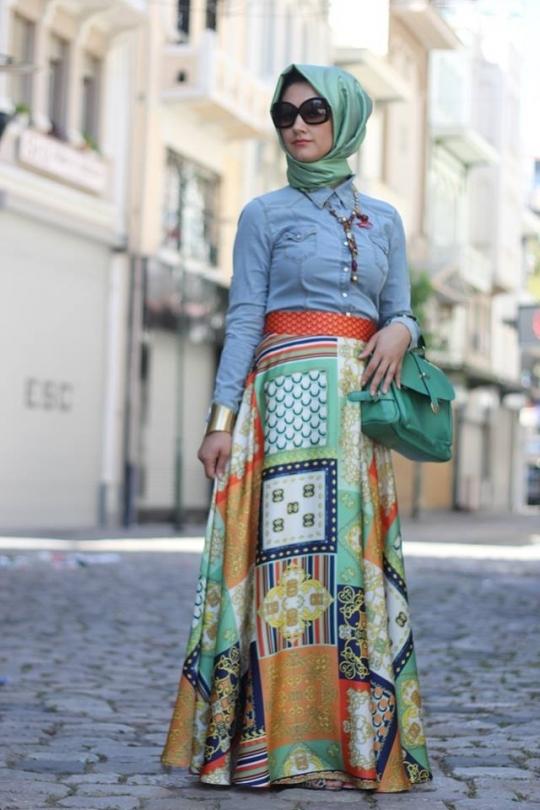 بالصور ازياء عجيبة لكل محجبة قمة التميز في ملابس المحجبات 245533 6