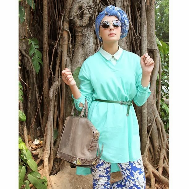بالصور ازياء عجيبة لكل محجبة قمة التميز في ملابس المحجبات 245533 7