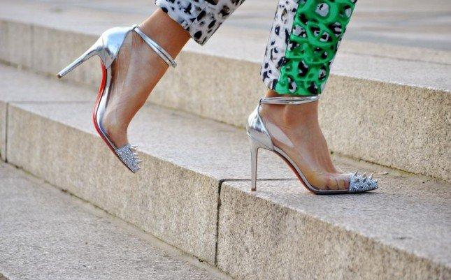 صورة احذية سهرات , احذيه جديدة 2019