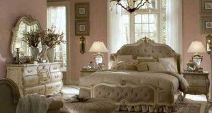 صوره غرف نوم كلاسيك فخمة