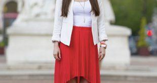 صور اروع واجمل ازياء باللون الاحمر صور ملابس وفساتين حمراء خيالية