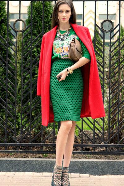 بالصور اروع واجمل ازياء باللون الاحمر صور ملابس وفساتين حمراء خيالية 245592 2