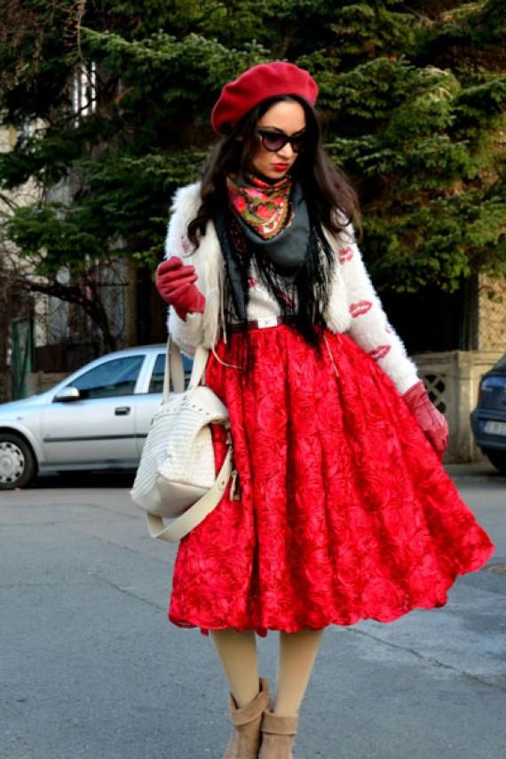 بالصور اروع واجمل ازياء باللون الاحمر صور ملابس وفساتين حمراء خيالية 245592 4