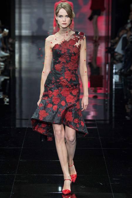 بالصور اروع واجمل ازياء باللون الاحمر صور ملابس وفساتين حمراء خيالية 245592 7