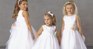 صورة صور فساتين اطفال ناعمه صور ملابس افراح الاطفال