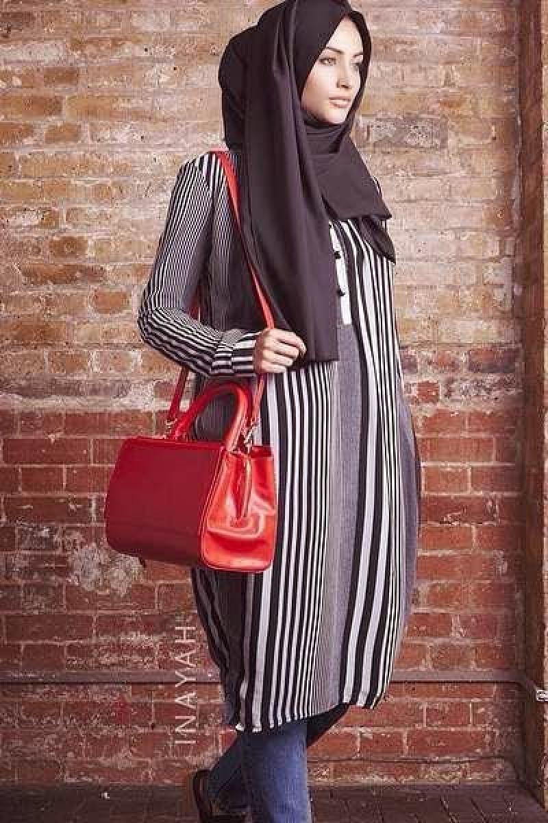 صور ملابس خروج للمحجبات , ملابس محجبات منتهى الشياكة 2019