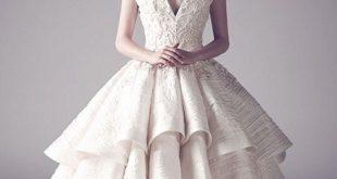 اجمل فساتين زفاف بالعالم