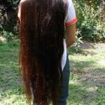 كيف يصبح شعري طويل وكثيف , اريد اطول شعري ابي حل للشعر الحل هنا