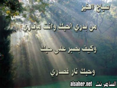 بالصور اشعار الصباح قصائد صباحية مميزة وقمة الحب والعاطفة 19131 5