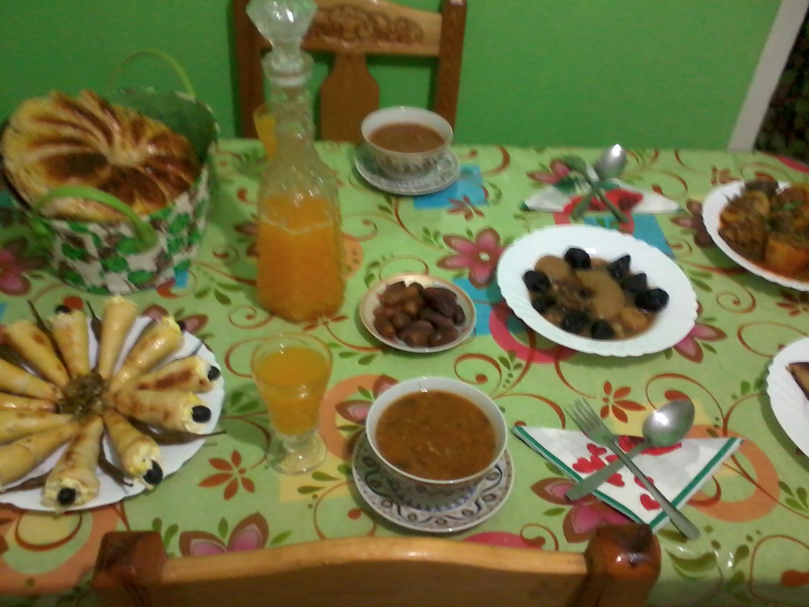 بالصور فطار رمضان اجمل فطور رمضاني , احلى اكلات الافطار 12304 2