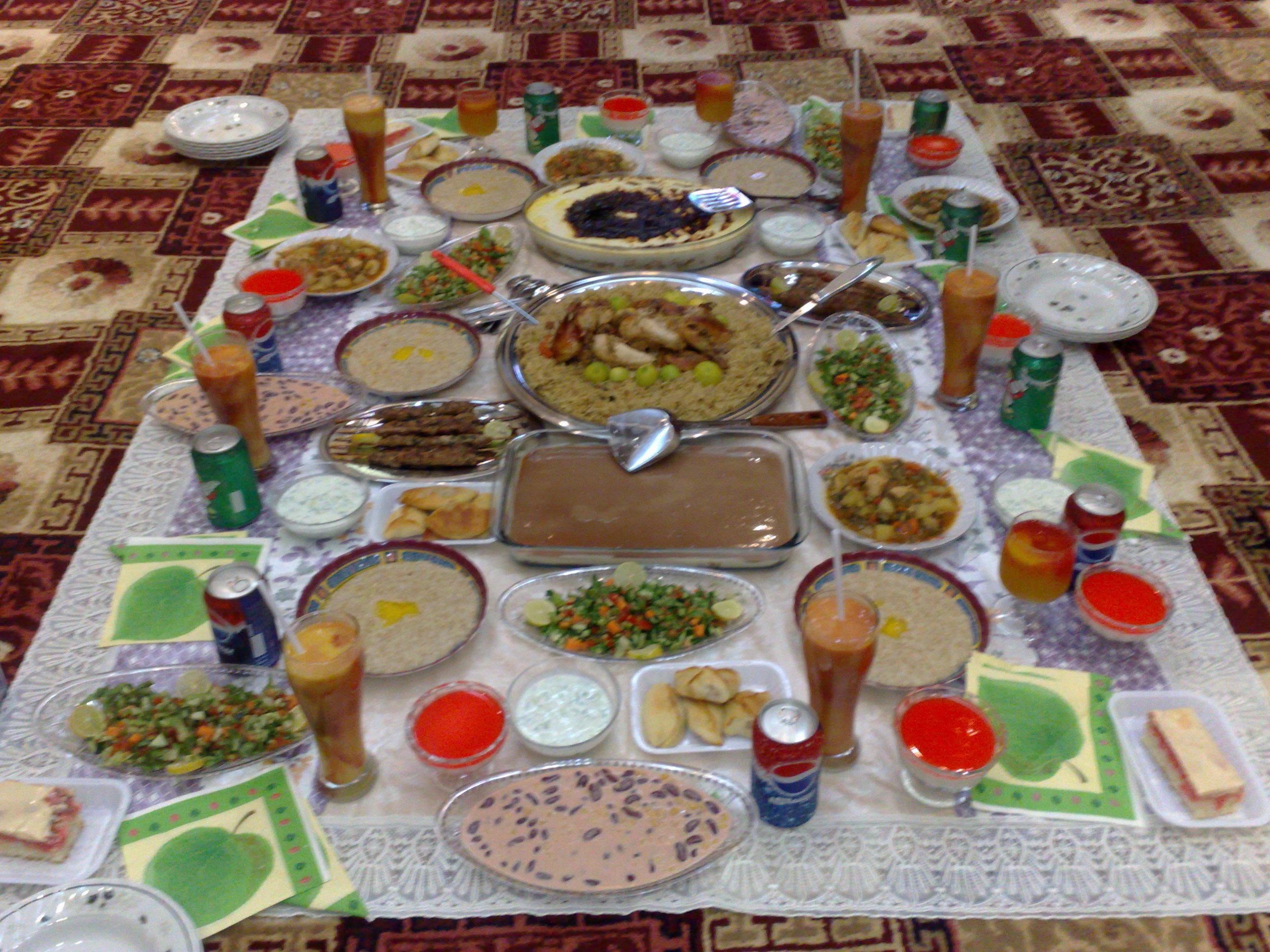 صوره فطار رمضان اجمل فطور رمضاني , احلى اكلات الافطار