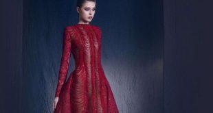 صوره صور احدث ازياء فساتين نيكولا جبران الجديدة ، اختاريلك فستان من التشكيلة الجنان دى