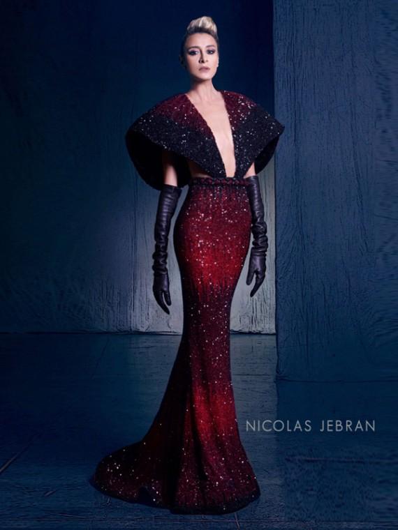 بالصور صور احدث ازياء فساتين نيكولا جبران الجديدة ، اختاريلك فستان من التشكيلة الجنان دى 259141 2