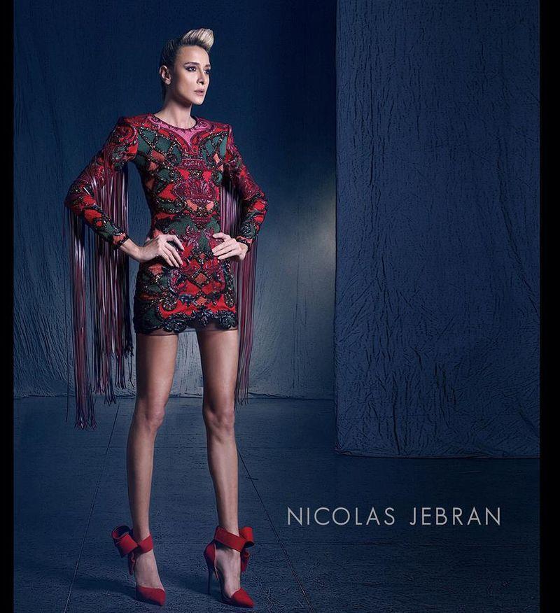 بالصور صور احدث ازياء فساتين نيكولا جبران الجديدة ، اختاريلك فستان من التشكيلة الجنان دى 259141 3