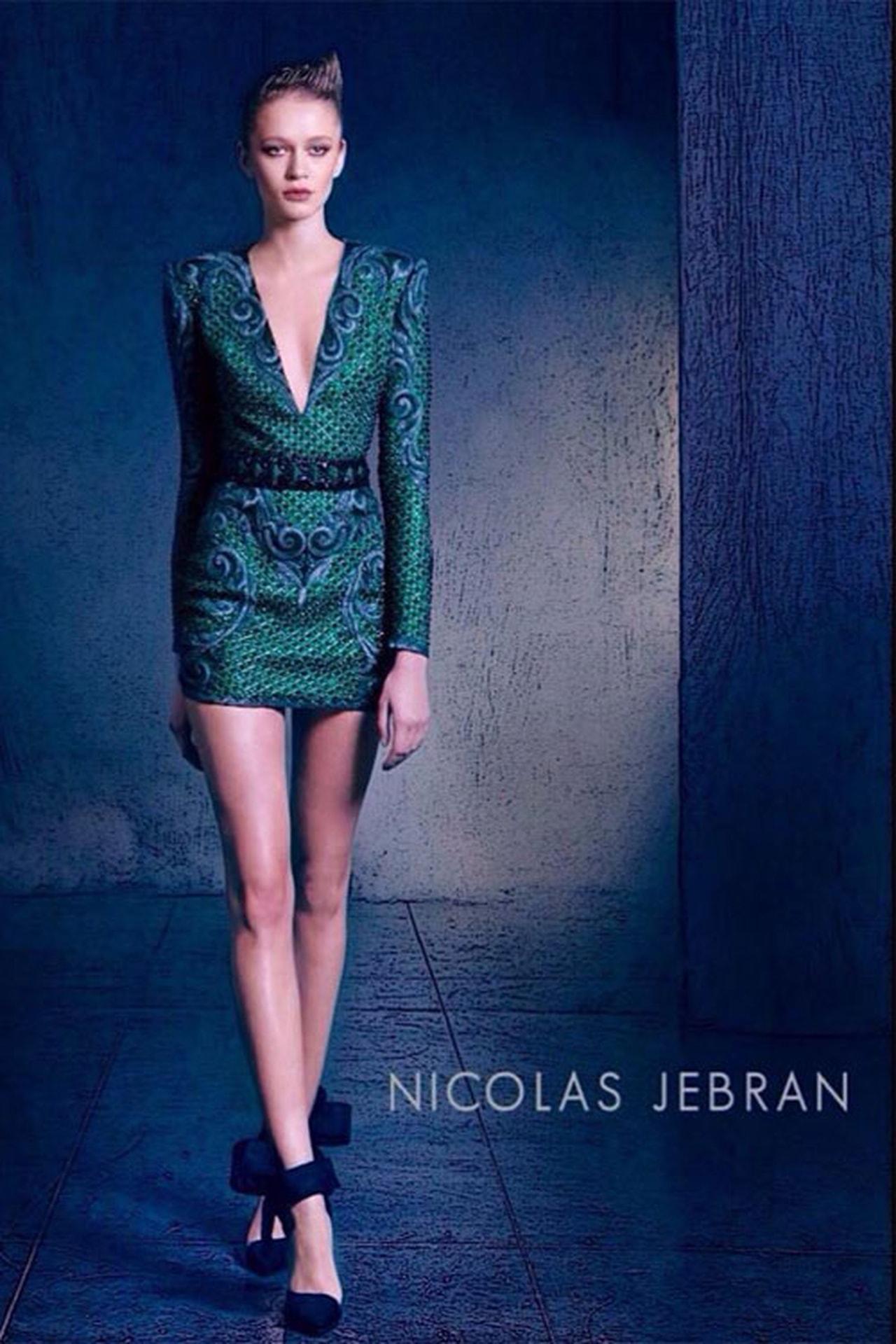 بالصور صور احدث ازياء فساتين نيكولا جبران الجديدة ، اختاريلك فستان من التشكيلة الجنان دى 259141 4