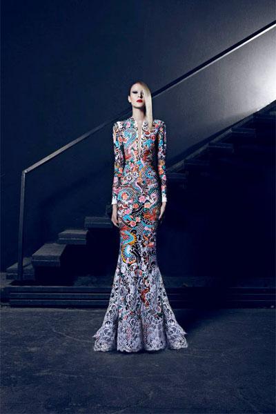 بالصور صور احدث ازياء فساتين نيكولا جبران الجديدة ، اختاريلك فستان من التشكيلة الجنان دى 259141 6