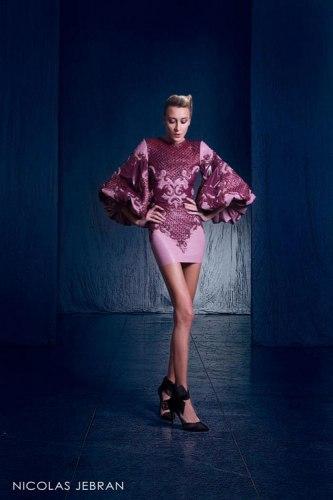 بالصور صور احدث ازياء فساتين نيكولا جبران الجديدة ، اختاريلك فستان من التشكيلة الجنان دى 259141 8