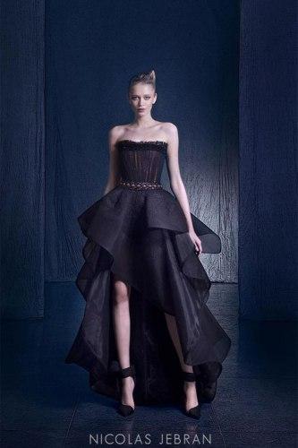 بالصور صور احدث ازياء فساتين نيكولا جبران الجديدة ، اختاريلك فستان من التشكيلة الجنان دى 259141 9