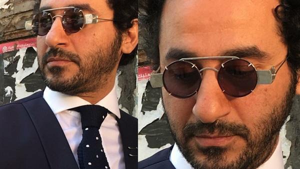 بالصور صور احدث ازياء نظارات الفنان احمد حلمي ولا اروع ، نجم الكوميديا الانيق 259153 7